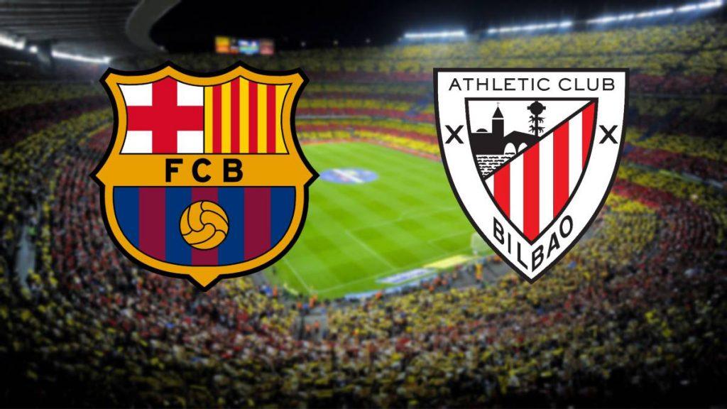 پخش زنده و آنلاین بازی بارسلونا و بیلبائو