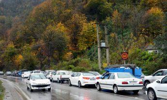 ترافیک نیمه سنگین در مسیر هراز و کندوان