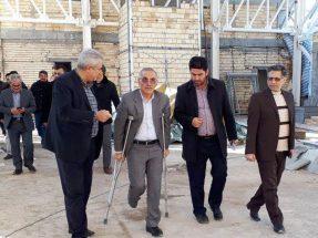 معاون عمرانی استاندار آذربایجان شرقی بر تکمیل ایستگاه راهآهن بستانآباد تأکید کرد