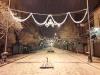حال و هوای کریسمس نزدیک عید نوروز / چهارشنبه سوری ورژن برفی + عکس