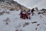نجات جان کوهنورد سقوط کرده در ارتفاعات مراغه