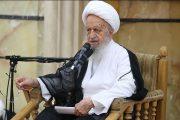 آیت الله مکارم شیرازی از سخنان رئیس جمهوری انتقاد کرد