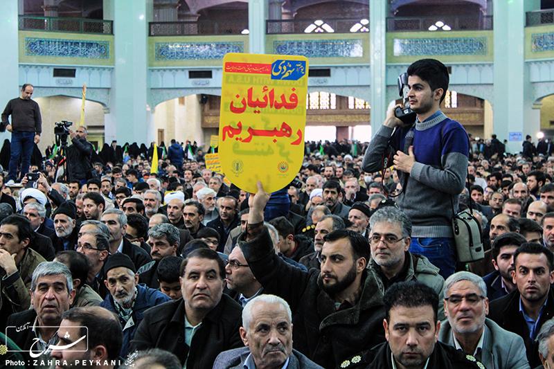 گرامیداشت حماسه عظیم 9 دی تبریز به روایت تصویر