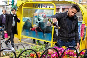 بوی بهار در بین مردم تبریز پیچیده است+عکس