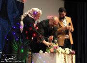 عکس/برگزاری جشن شب یلدا با اجرای گروه هنری خوش و بش در سینما قدس تبریز