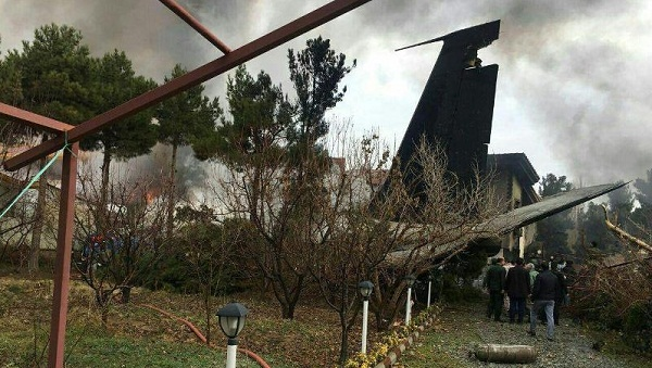 سقوط هواپیمای