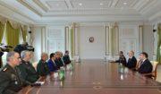 دیدار سردار باقری با رئیس جمهوری آذربایجان/همکاری های نظامی و دفاعی ایران و جمهوری آذربایجان توسعه می یابد