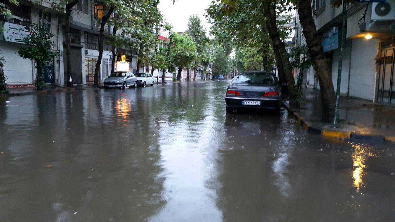 آماده باش ستاد بحران کرمانشاه / احتمال وقوع سیل بر اثر بارش شدید باران