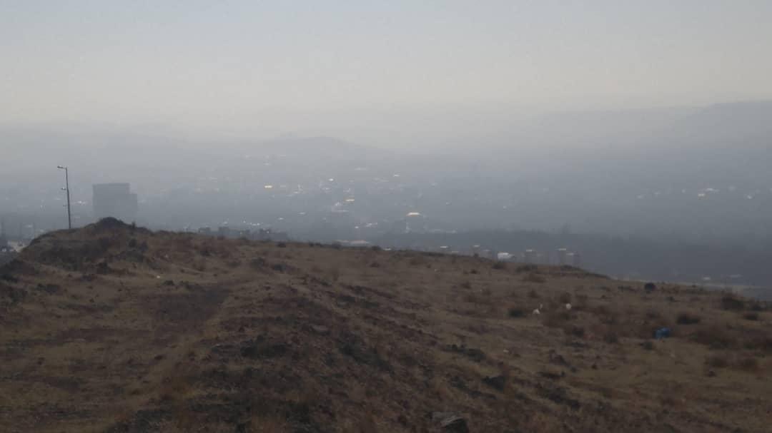 اسکو در محاصره دود و آلاینده ها