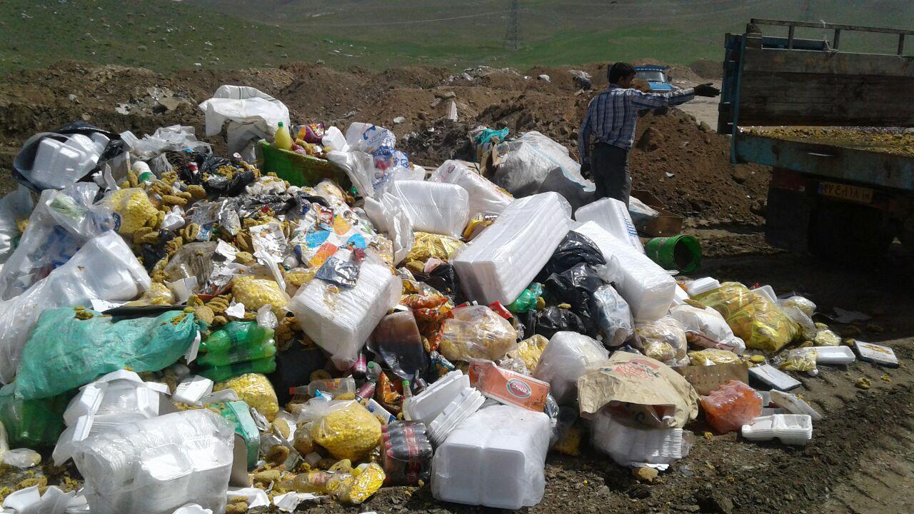 انهدام بیش از ۹۸۰ هزار کیلوگرم مواد غذایی غیر بهداشتی