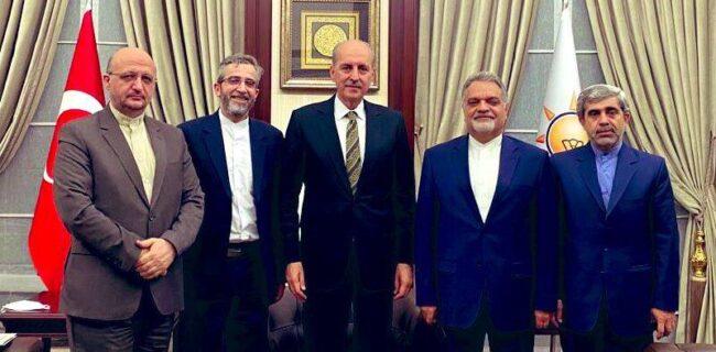 معاون وزیر امورخارجه ایران در ترکیه/مذاکرات دوستانه در حال انجام است