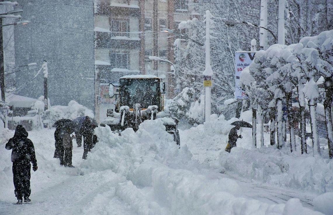 هشدار سازمان هواشناسی / احتمال بارش برف و تگرگ در ۲۲ استان کشور