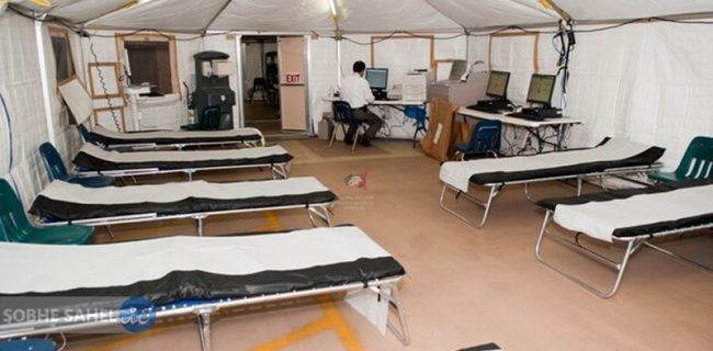 احداث بیمارستان صحرایی در لاکان رشت/گیلان به پرستاران بیشتری نیاز دارد