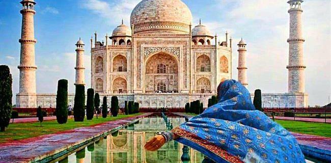 از تاج محل در هند تا پروت باکو مال در سفر به باکو