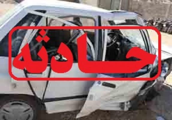 یک کشته و ۲ زخمی در سانحه جاده ای کمیجان