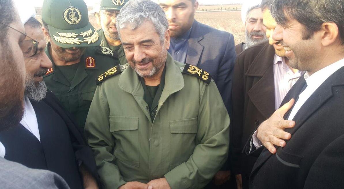 گلستان دوباره میزبان فرمانده کل سپاه پاسداران شد