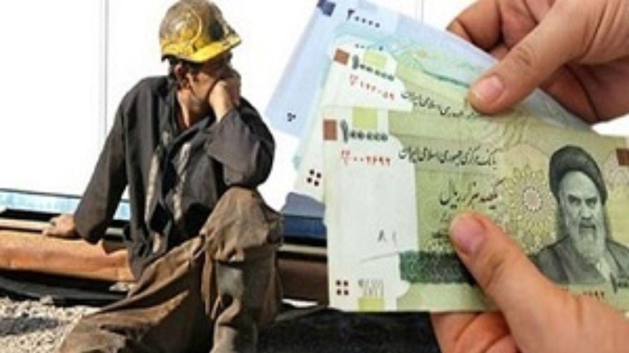حقوق ۷۸درصد کارگران کمتر از یک میلیون و ۶۰۰ هزار تومان