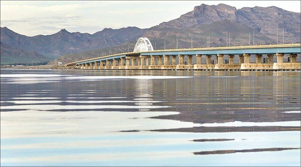 افزایش ۴۵ سانتی متری تراز دریاچه ارومیه