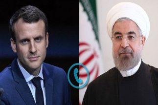 روحانی:آمریکا تنش را تشدید میکند/مکرون:اقدامات آمریکامصرف داخلی دارد