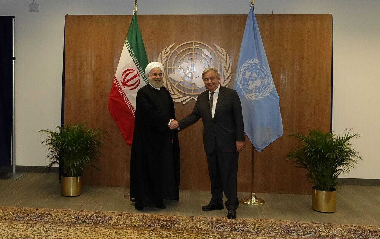 بازتاب گسترده سفر روحانی به نیویورک در رسانه های جمهوری آذربایجان