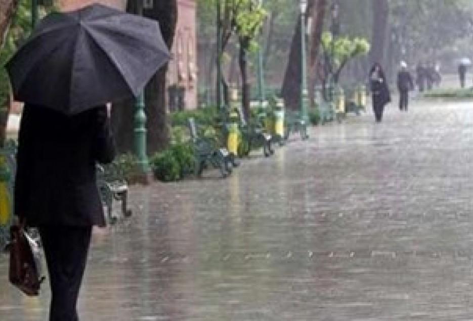 بارش شدید باران در ۹ استان کشور