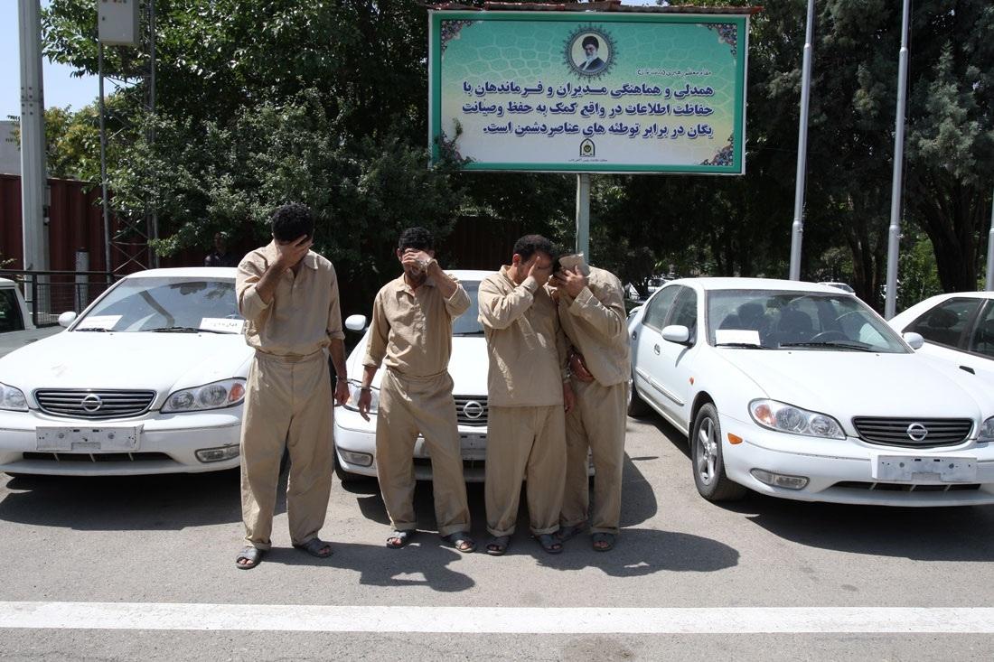 دستگیری سارقان حرفهای خودرو شرق تهران