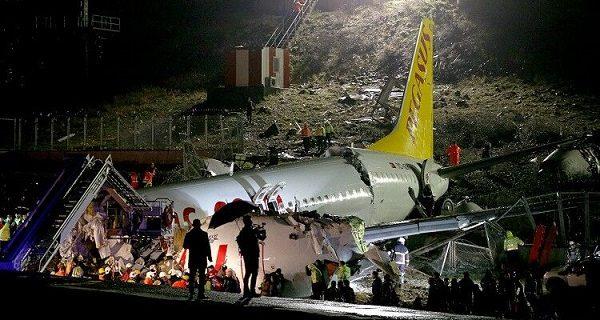 تلفات سانحه هواپیمایی در فرودگاه استانبول به ۱۷۹ نفر افزایش یافت