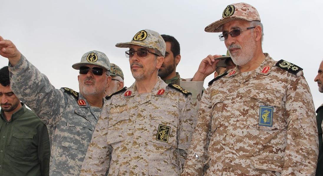 گلستان میزبان سرلشکر باقری شد / مدیریت میدانی نظامیان در صحنه