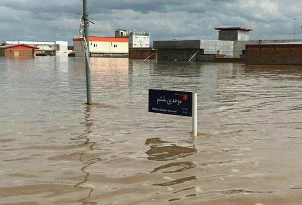 سیل مجدد در کیمن آق قلا / احتمال افزایش سطح آب به دلیل ذوب برف