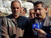 ارسال اولین محموله کمکهای شهرداری تبریز به سمت مناطق سیلزده ایلام