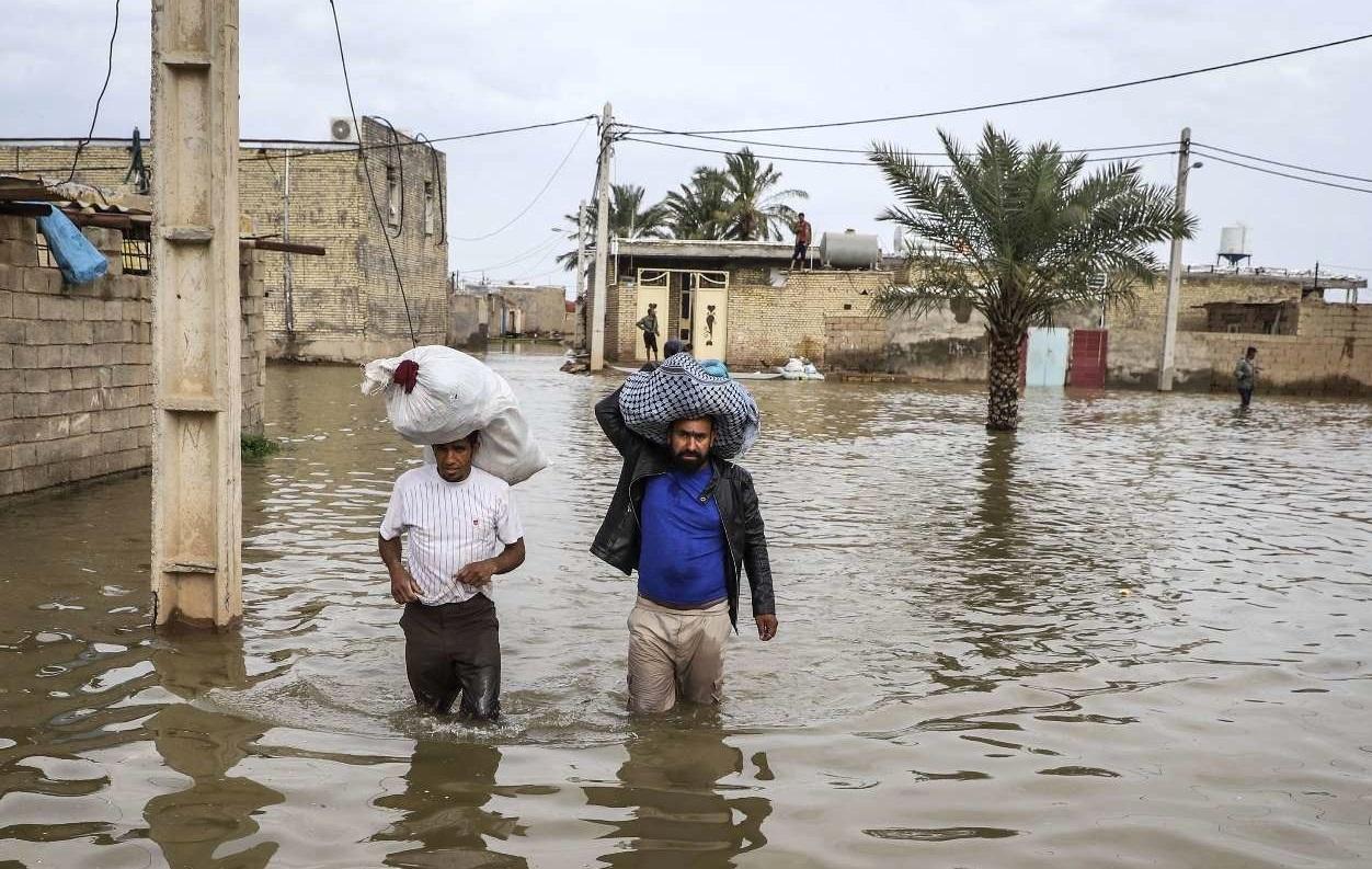 دستور تخلیه شهر شیبان خوزستان صادر شد/ شکسته شدن سیل بند