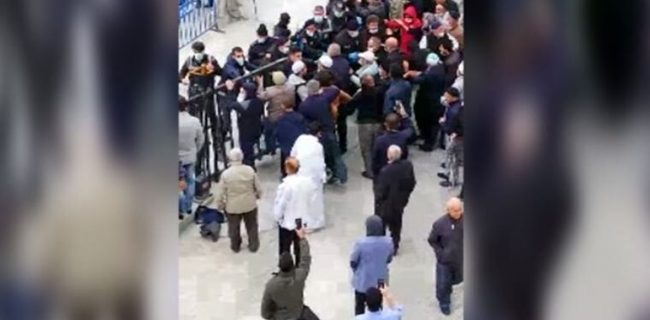 قرنطینه شدگان قونیه ای با پلیس درگیر شدند