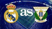 پخش زنده بازی لگانس و رئال مادرید از سری مسابقات لالیگا