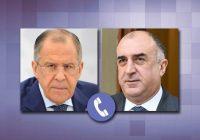 لاوروف و محمدیاراف اوضاع در مرز جمهوری آذربایجان  و ارمنستان را بررسی کردند