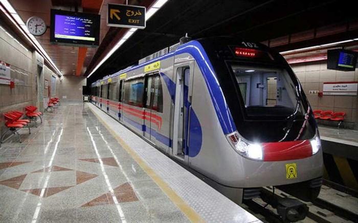 کاهش زمان خدمات رسانی متروی تبریز