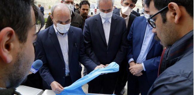محصولات فناورانه برای مقابله با بیماری کرونا در آذربایجانشرقی رونمایی شد