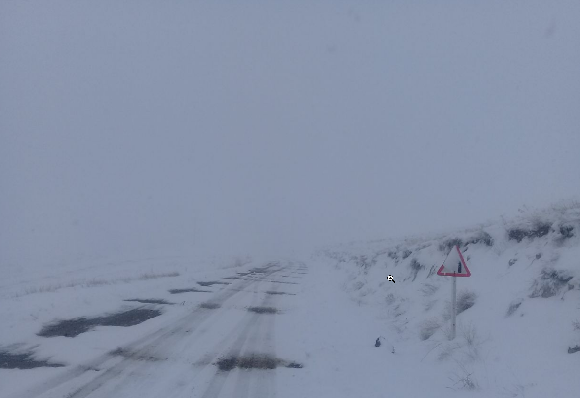 یک آزاد راه دیگر در اثر بارش برف مسدود شد