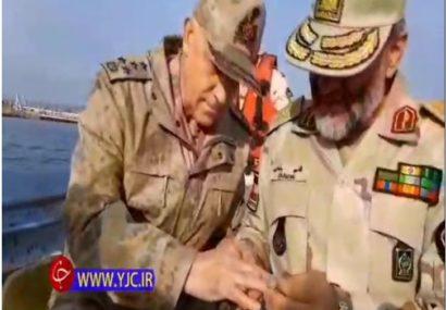 هدیه امام رضایی فرمانده مرزبانی ناجا به فرمانده ژاندارمری ترکیه
