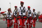 امدادرسانی به بیش از ۳۴۰ مصدوم در مراسم جاماندگان اربعین حسینی