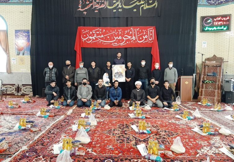 جمع آوری و توزیع کمک های مومنانه توسط اهالی و بسیجیان مسجد فاطمه الزهرای شهرک باغمیشه