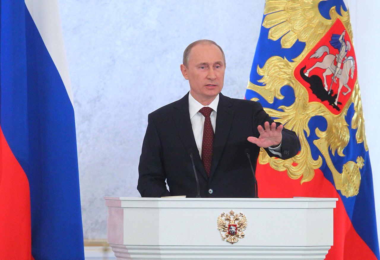 پوتین: کسی به فکر جنگ با روسیه نباشد