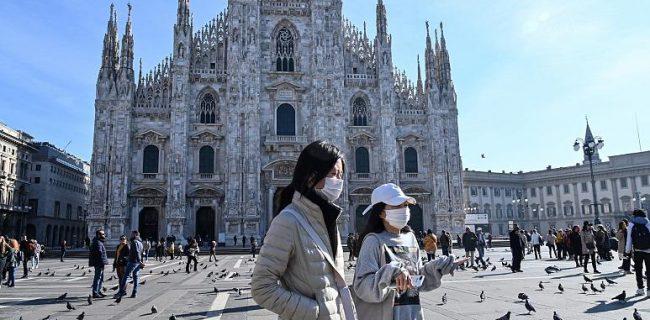 تلفات کرونا در ایتالیا از ۲۰۰۰ نفر فراتر رفت