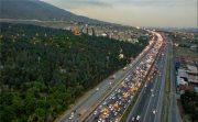 ترافیک سنگین ولی روان در هراز و کندوان