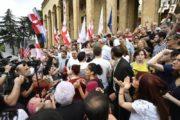 مقام گرجستانی: نیروهای مخالف بازی خطرناکی را آغاز کرده اند