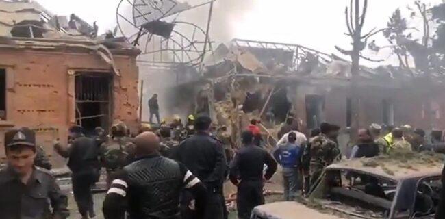 سفارت ایران در باکو حمله به افراد و مراکز غیر نظامی را محکوم کرد