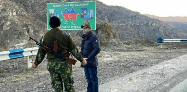 جمهوری آذربایجان خودروهای ایرانی در گوریس – قافان را توقیف کرد