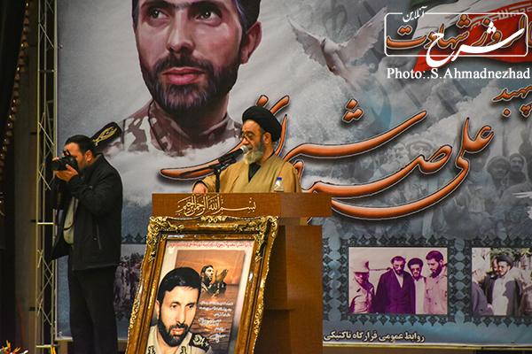 مراسم بزرگذاشت امیر سپهبد شهید صیاد شیرازی + عکس