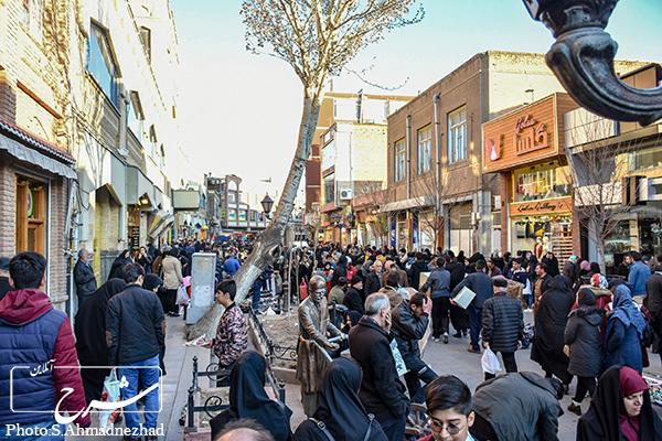 حال و هوای عید در بازار تبریز- سینا اصل احمدنژاد