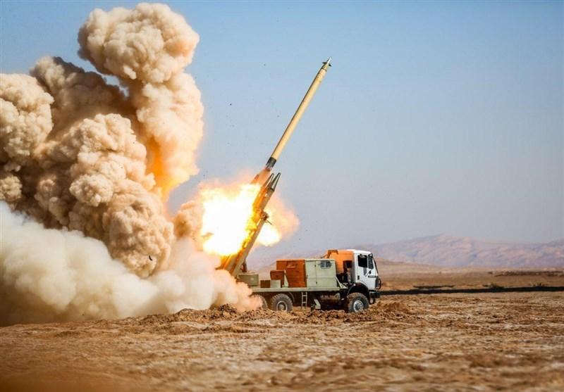 سپاه مقرهای تروریستها در اقلیم کردستان عراق را گلوله باران کرد+فیلم