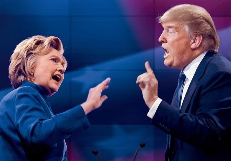 ادامه جنگ لفظی بین کلینتون و ترامپ